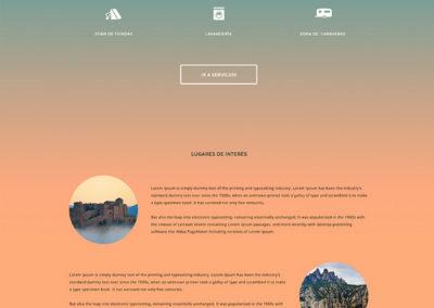 Camping Emili Freixa Web Design