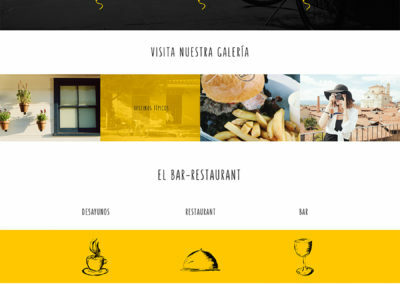 El Juglar Hostel Template Design